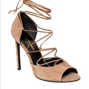 YSL Kate lace up pump 36.5 6.5 no offers !